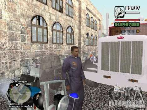Helmet mod для GTA San Andreas пятый скриншот