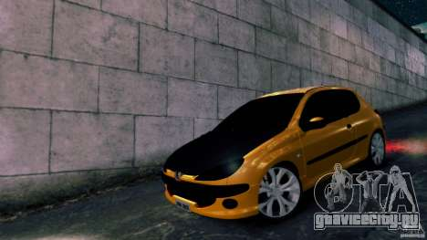 Peugeot 206 для GTA 4