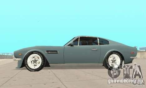 Aston Martin V8 для GTA San Andreas вид справа