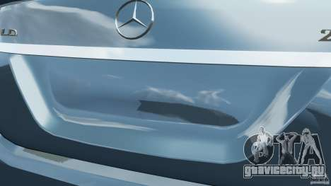 Mercedes-Benz S W221 Wald Black Bison Edition для GTA 4 двигатель