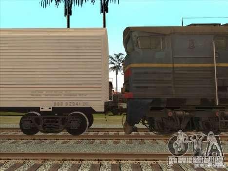 2ТЭ10В-4036 для GTA San Andreas вид справа