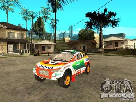 Mitsubishi Racing Lancer from DIRT 2 для GTA San Andreas