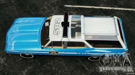 Oldsmobile Vista Cruiser 1972 Police v1.0 [ELS] для GTA 4 вид справа