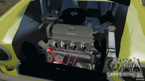 Mini Cooper для GTA 4 вид изнутри