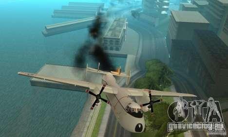 C-2 Greyhound для GTA San Andreas вид сверху