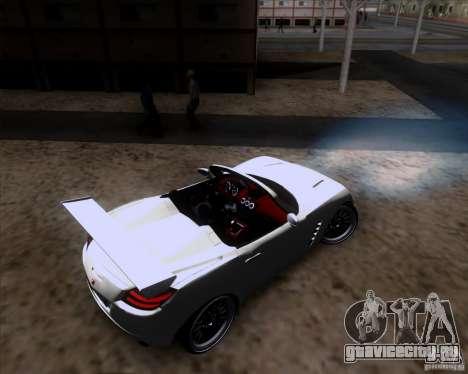 Saturn Sky Roadster для GTA San Andreas вид сбоку