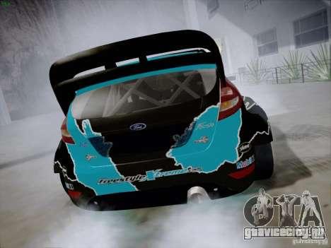 Ford Fiesta RS для GTA San Andreas вид справа