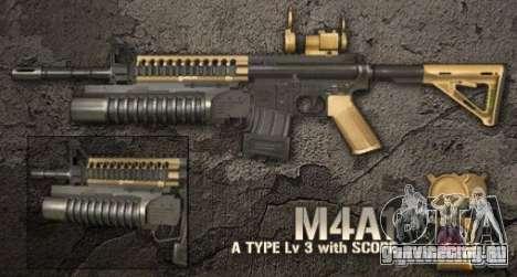 [Point Blank] M4A1 для GTA San Andreas