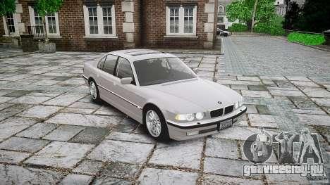 BMW 740i (E38) style 32 для GTA 4