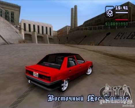 Renault Fairway для GTA San Andreas вид сверху