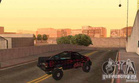 Dodge Power Wagon Paintjobs Pack 1 для GTA San Andreas вид сзади слева