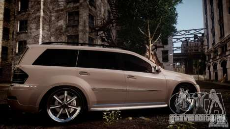 Mercedes-Benz GL450 Brabus Black Edition для GTA 4 вид слева