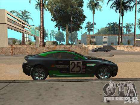 Aston Martin v8 Vantage n400 для GTA San Andreas вид сбоку