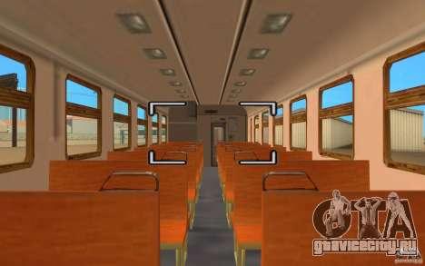 Поезд ER2-K-1321 для GTA San Andreas вид справа
