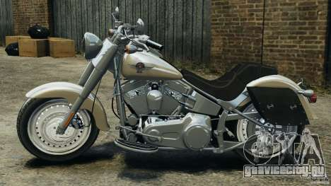 Harley Davidson Softail Fat Boy 2013 v1.0 для GTA 4 вид слева