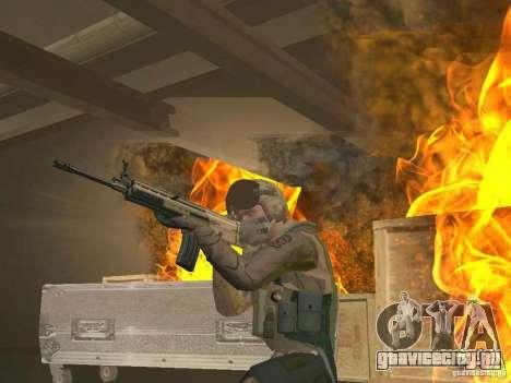 Военный пилот для GTA San Andreas второй скриншот