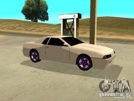 New Elegy v.1 для GTA San Andreas вид сзади