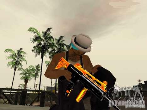 Black and Yellow weapons для GTA San Andreas третий скриншот