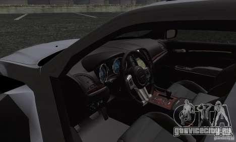 Chrysler 300c для GTA San Andreas вид сбоку