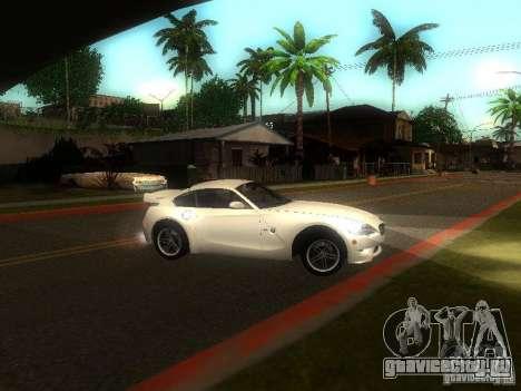 BMW Z4 M 07 для GTA San Andreas