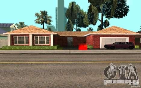 Новые текстуры дома Милли для GTA San Andreas второй скриншот