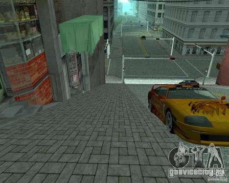 Новые дороги в San Fierro для GTA San Andreas четвёртый скриншот
