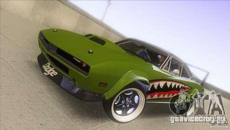 Dodge Charger RT SharkWide для GTA San Andreas вид сбоку