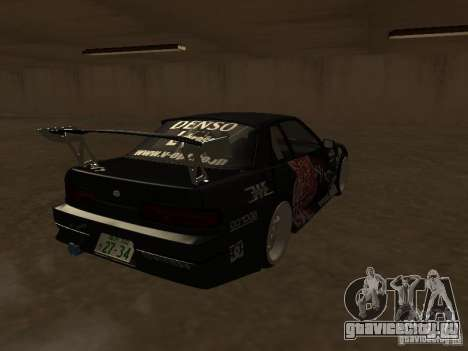 Nissan Silvia S13 JDM для GTA San Andreas вид справа