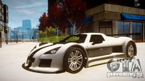 Gumpert Apollo Sport KCS Special Edition v1.1 для GTA 4 вид сзади слева