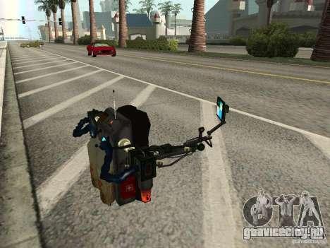 Новый Jetpack для GTA San Andreas пятый скриншот