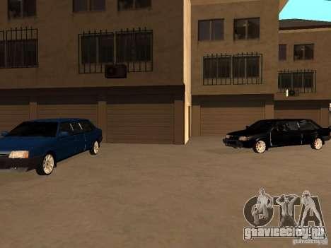 ВАЗ 21099 Лимузин для GTA San Andreas вид сверху