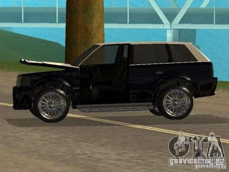 Huntley из GTA IV для GTA San Andreas вид сзади