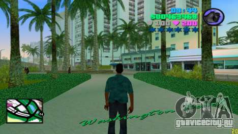 Квадратный радар для GTA Vice City