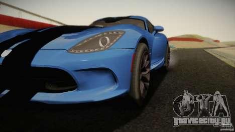 Dodge Viper GTS 2013 для GTA San Andreas вид слева