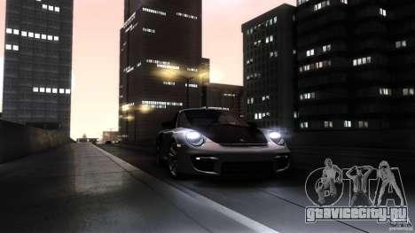 Porsche 911 GT2 RS 2012 для GTA San Andreas вид снизу
