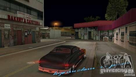 Cuban Hermes HD для GTA Vice City вид сзади слева