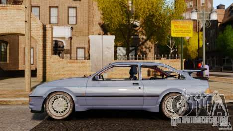 Ford Sierra RS500 Cosworth 1987 для GTA 4 вид слева