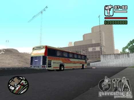 MARCOPOLO III SCANIA 112 для GTA San Andreas вид сзади