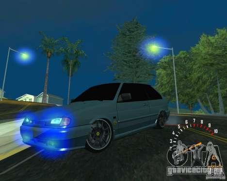 ВАЗ 2113 Ferarri для GTA San Andreas вид сзади