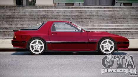 Mazda RX7 FC3S v2 FINAL для GTA 4 вид сзади