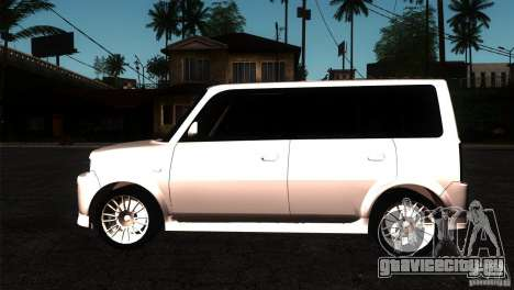 Toyota BB для GTA San Andreas вид слева