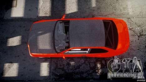 BMW E36 Alpina B8 для GTA 4 вид снизу