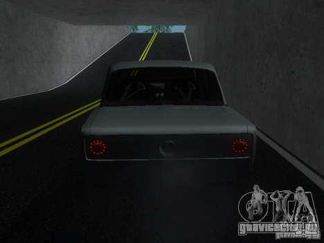 ВАЗ 2106 Drag Racing для GTA San Andreas вид справа