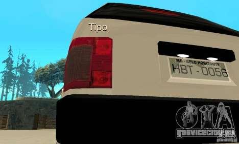 Fiat Tipo 2.0 16V 1995 для GTA San Andreas вид сбоку