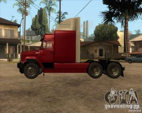 Супер ЗиЛ v.2.0 для GTA San Andreas вид слева