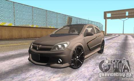 Opel Astra GTC DIM v1.0 для GTA San Andreas салон