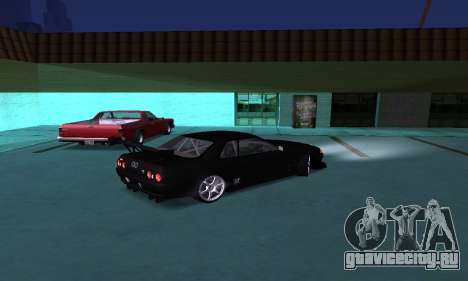 Nissan Skyline R32 GT-R для GTA San Andreas вид слева