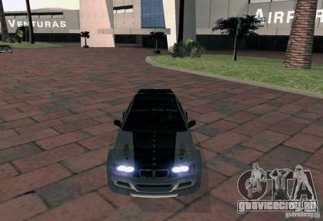 BMW M3 MyGame Drift Team для GTA San Andreas вид справа