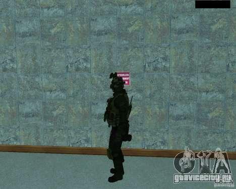 Третий скин солдата из Cod MW 2 для GTA San Andreas второй скриншот