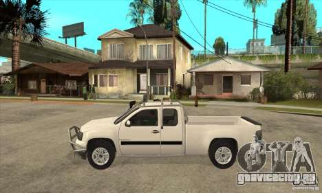 GMC Sierra для GTA San Andreas вид слева